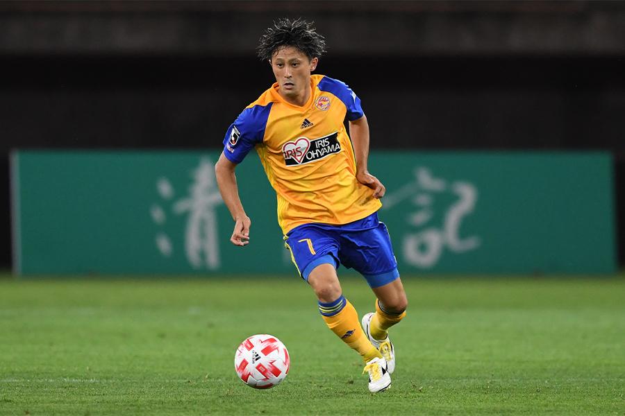 ベガルタ仙台でプレーする元日本代表MF関口訓充【写真:Getty Images】