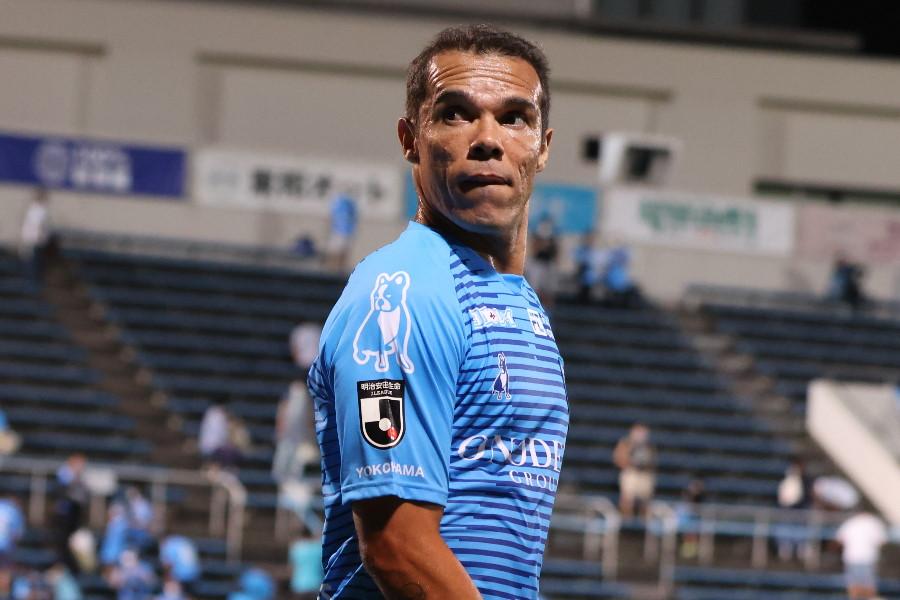 横浜FCのMFレアンドロ・ドミンゲス【写真:高橋学】