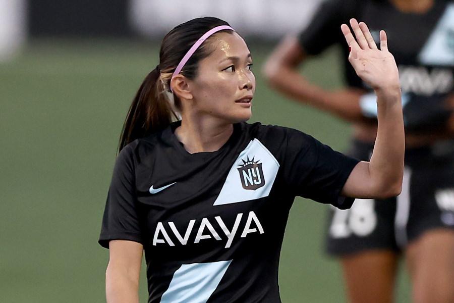 米女子サッカーリーグNWSLのゴッサムFCに所属するFW川澄奈穂美【写真:Getty Images】