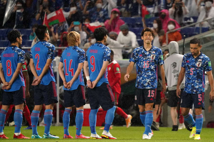 日本代表は10月にサウジアラビア、ホームでオーストラリアと激突【写真:Getty Images】