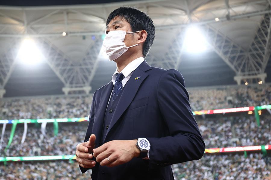日本代表の森保一監督【写真:ⓒJFA】