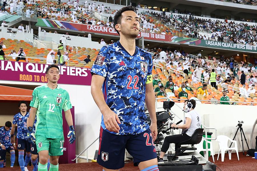 日本代表のキャプテンを務めるDF吉田麻也【写真:ⓒJFA】