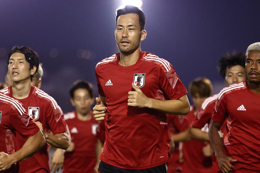 キャプテンとしてチームを牽引するDF吉田麻也【写真:ⓒJFA】