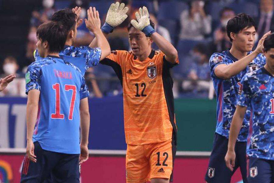 好セーブでゴールを守ったGK権田修一【写真:高橋 学】