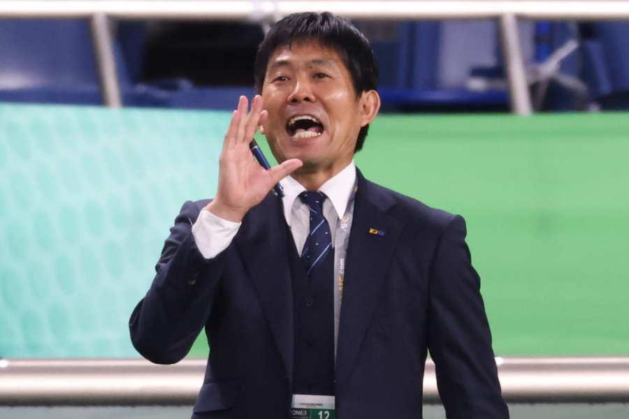 日本代表の森保監督【写真:高橋 学】