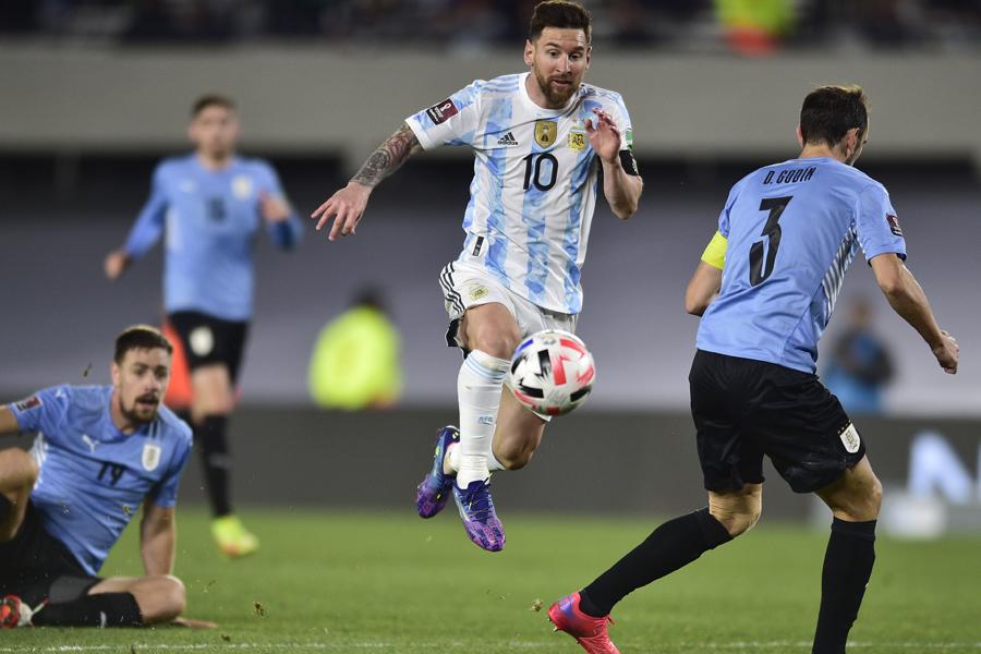 アルゼンチン代表FWリオネル・メッシ【写真:AP】