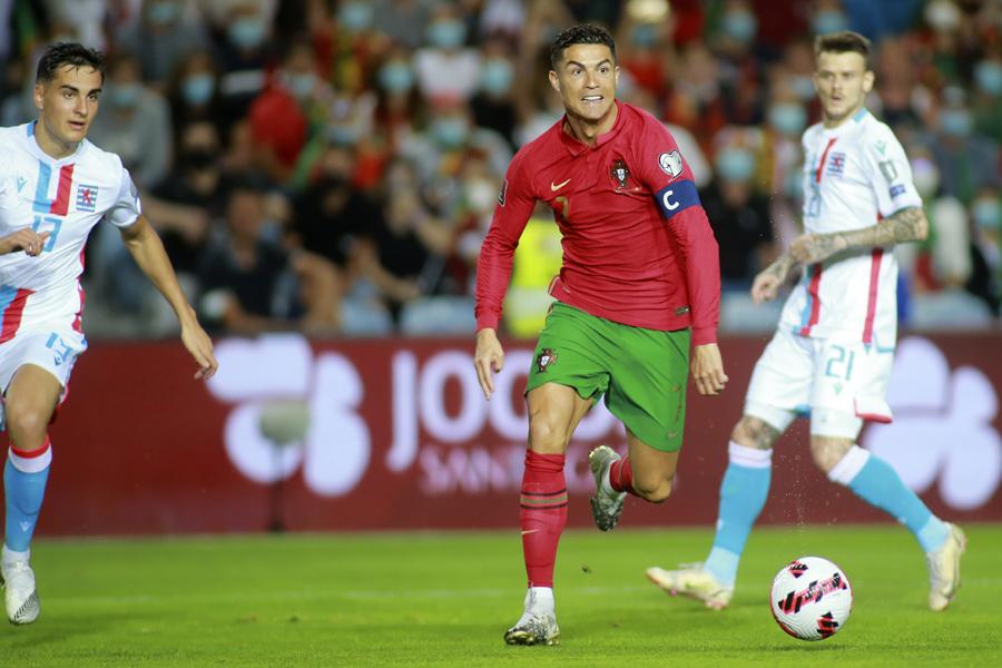 ポルトガル代表FWクリスティアーノ・ロナウド【写真:AP】