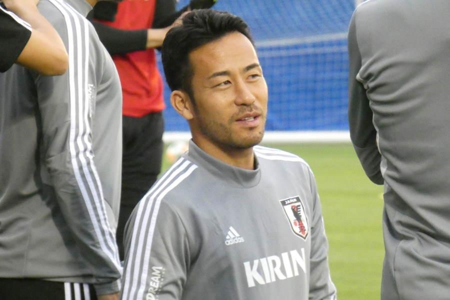 日本代表主将の吉田麻也【写真:Football ZONE web】