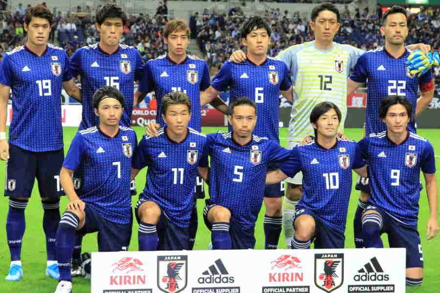 日本代表のスタメンが発表された【写真:Noriko NAGANO】