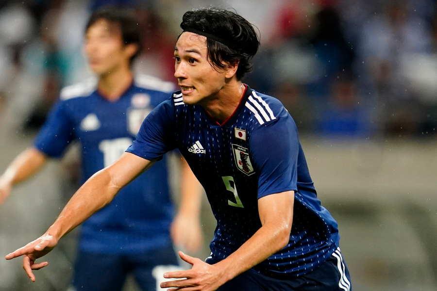 日本代表は前半を0-0のまま後半へ【写真:Yukihito Taguchi】