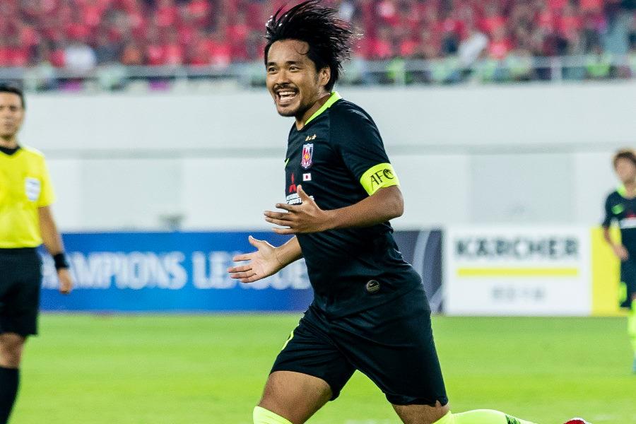 浦和レッズはエース興梠の活躍もあり、決勝へと進んだ【写真:Getty Images】