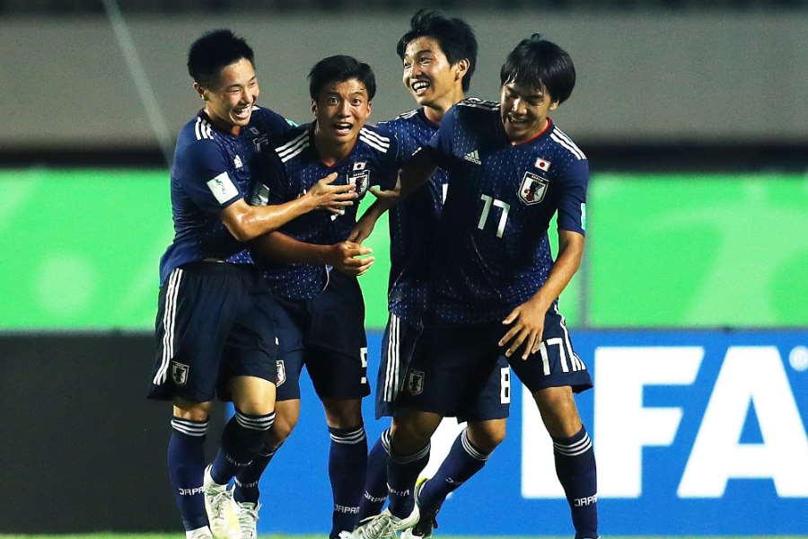 U-17日本代表が海外でも称賛【写真:Getty Images】