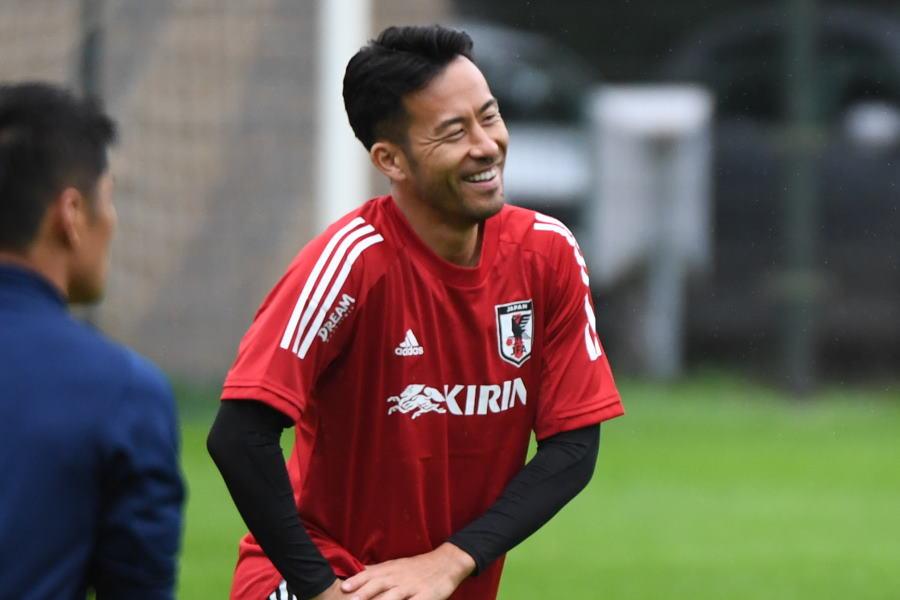 日本代表キャプテンで、現在はサンプドリアで活躍する吉田麻也【写真:©JFA】