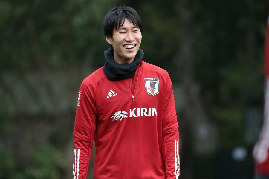 日本代表MF鎌田大地【写真:©JFA】