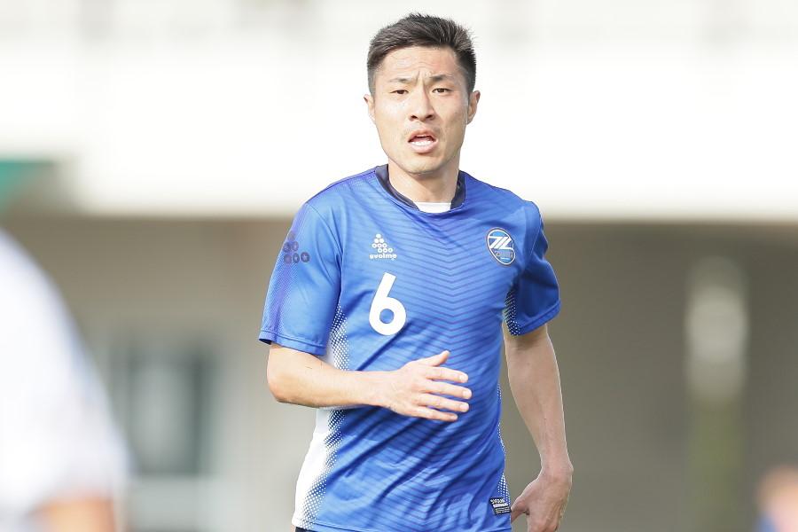 FC町田ゼルビアMF李漢宰【写真:©FCMZ】