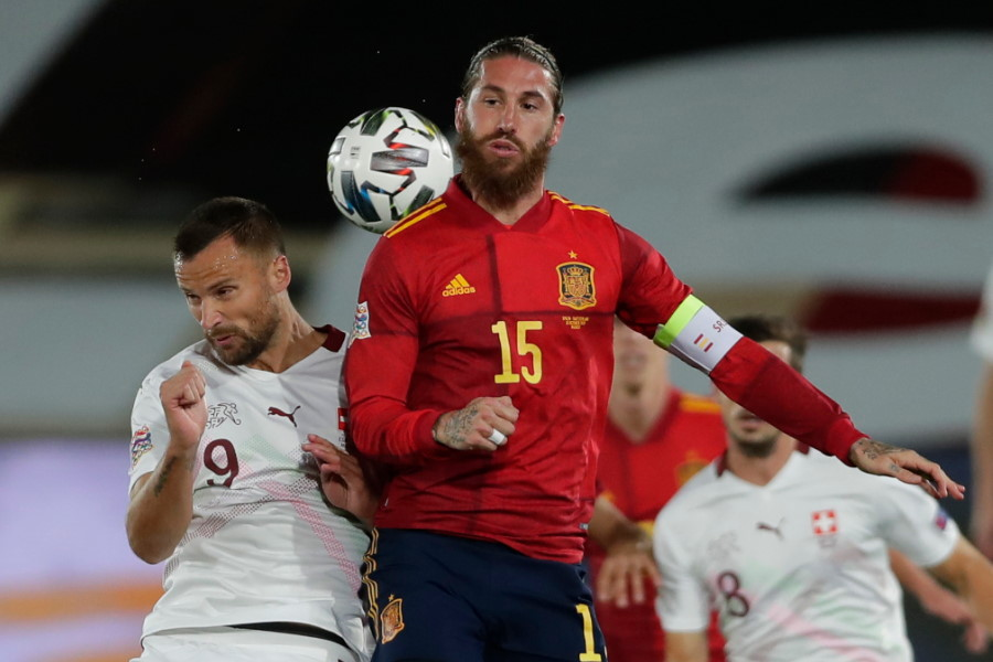 スペイン代表DFセルヒオ・ラモス【写真:AP】
