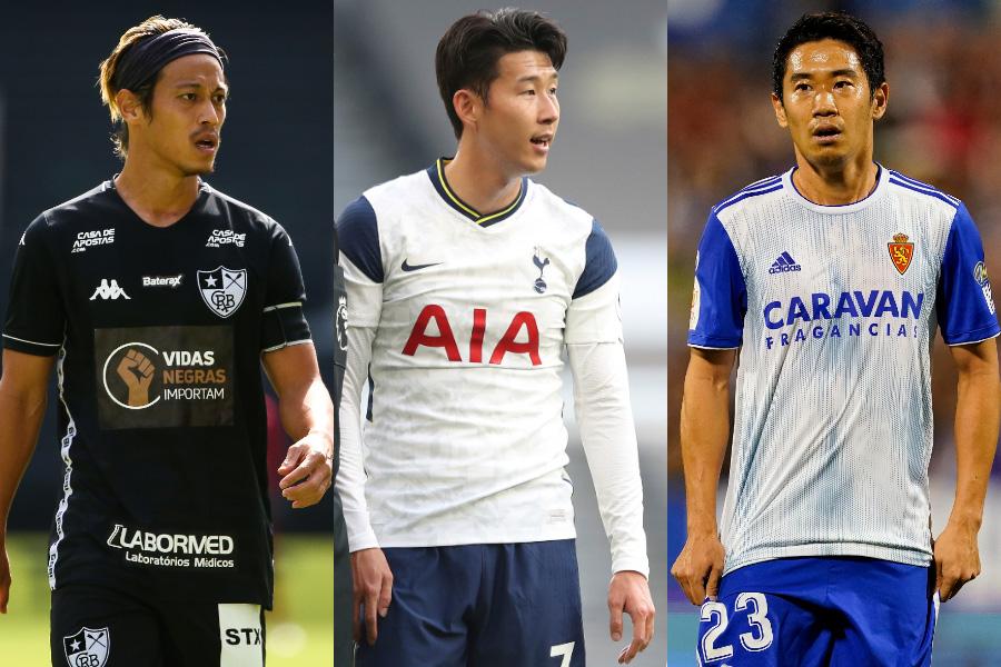 今世紀最高のアジア人選手の投票結果に注目【写真:Getty Images & AP】