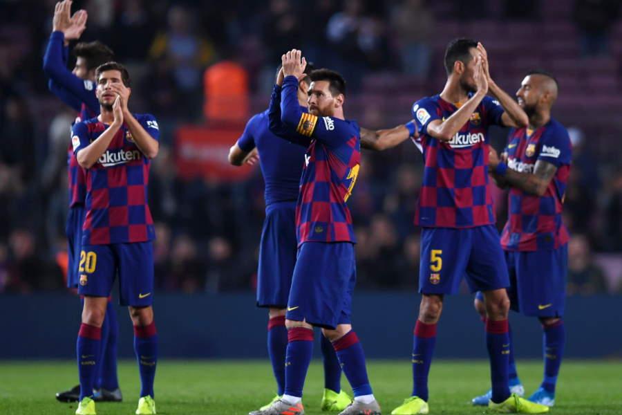 本領の発揮できない時期が続いているバルセロナ【写真:Getty Images】