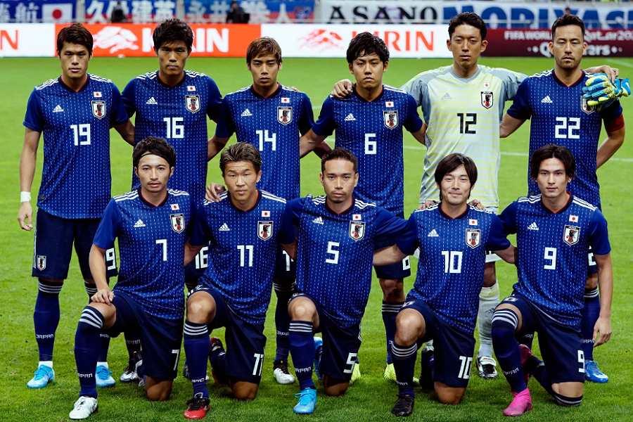 カタールW杯アジア2次予選に臨む日本代表【写真:Yukihito Taguchi】
