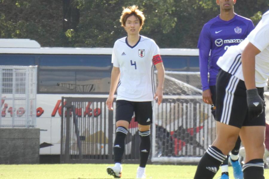U-22日本代表MF板倉滉【写真:Football ZONE web】