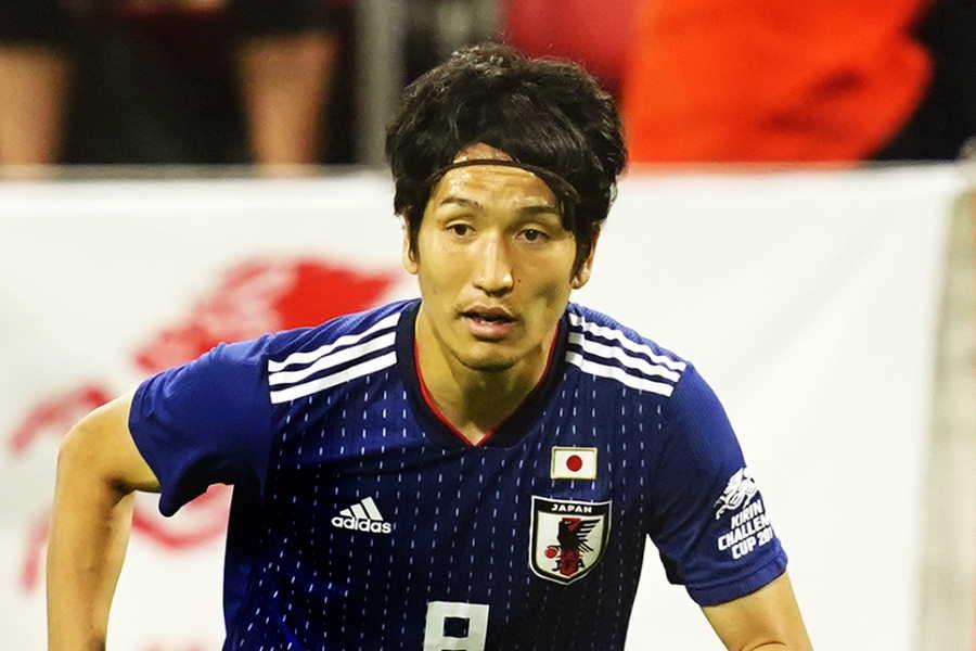 日本代表MF原口元気【写真:Yukihito Taguchi】