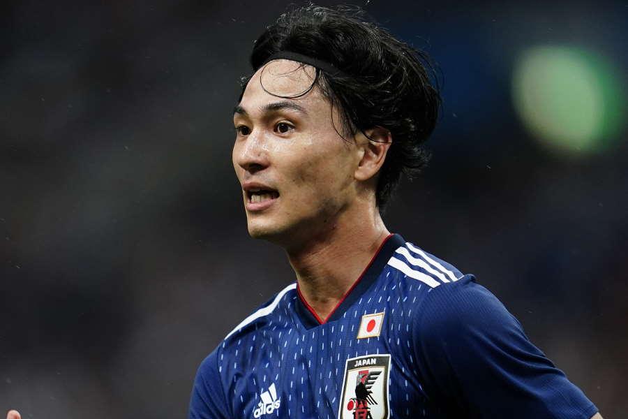 南野拓実のゴールで日本代表が先制した【写真:Yukihito Taguchi】