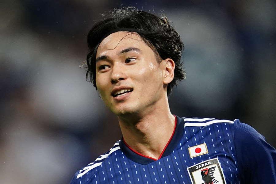 南野はW予選での連続得点記録を更新した【写真:Yukihito Taguchi】