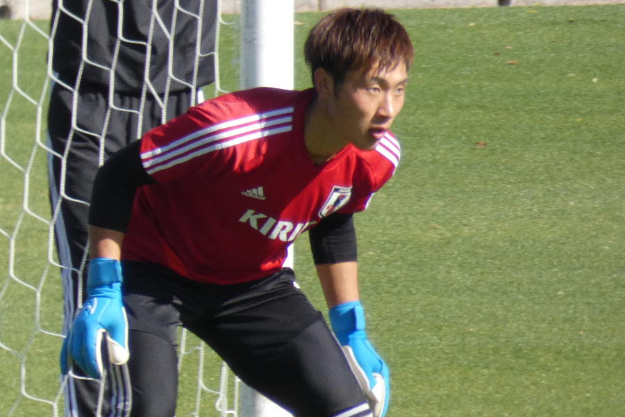 U-22日本代表GK大迫敬介【写真:Football ZONE web】
