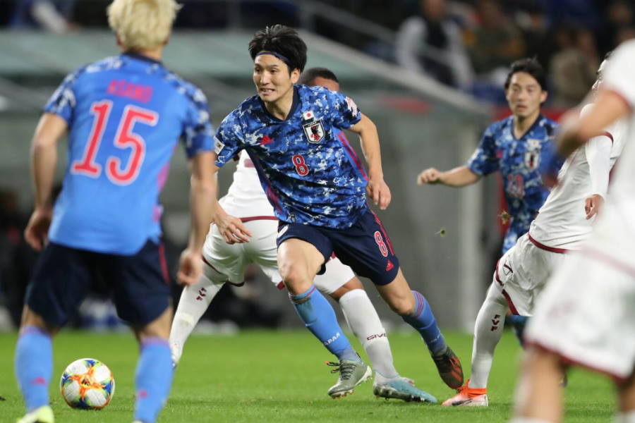 前半に4点を浴びた日本は歴史的敗戦【写真:高橋学】