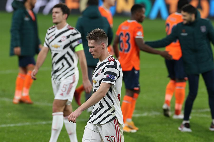 マンチェスター・ユナイテッドはバシャクシェヒルに1-2で敗れた【写真:Getty Images】