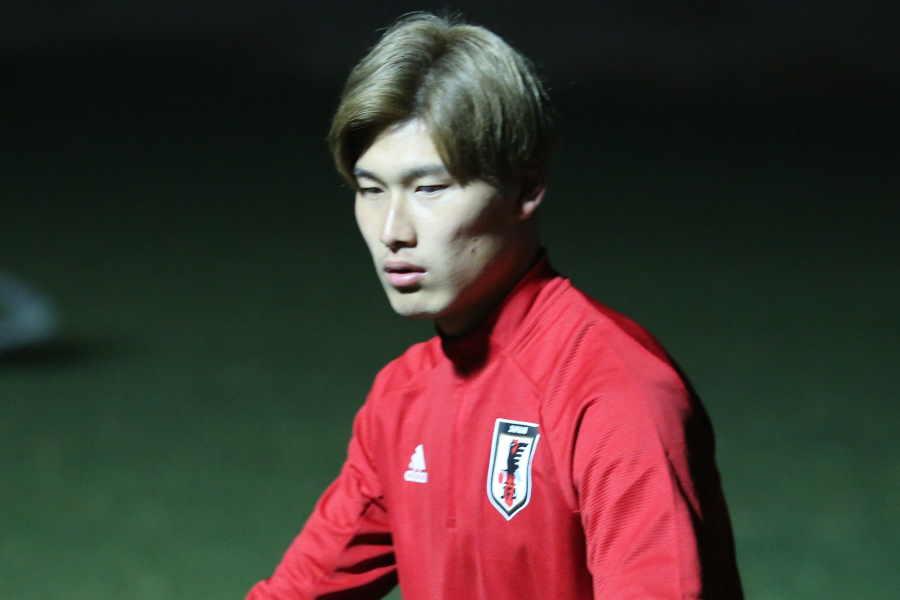 A代表デビューのMF橋岡【写真:Football ZONE web】
