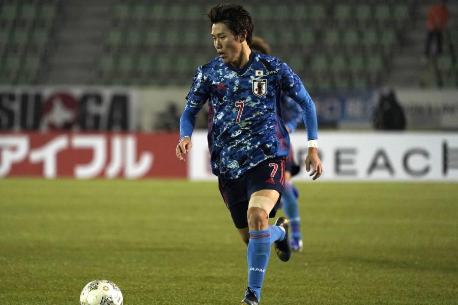 日本代表MF遠藤渓太【写真:Getty Images】