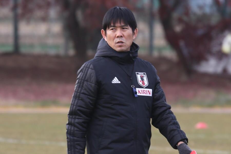 日本代表の森保監督【写真:Football ZONE web】