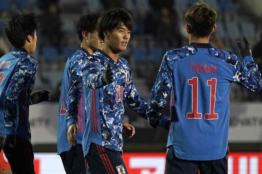 日本代表は香港代表に5-0で快勝【写真:Getty Images】