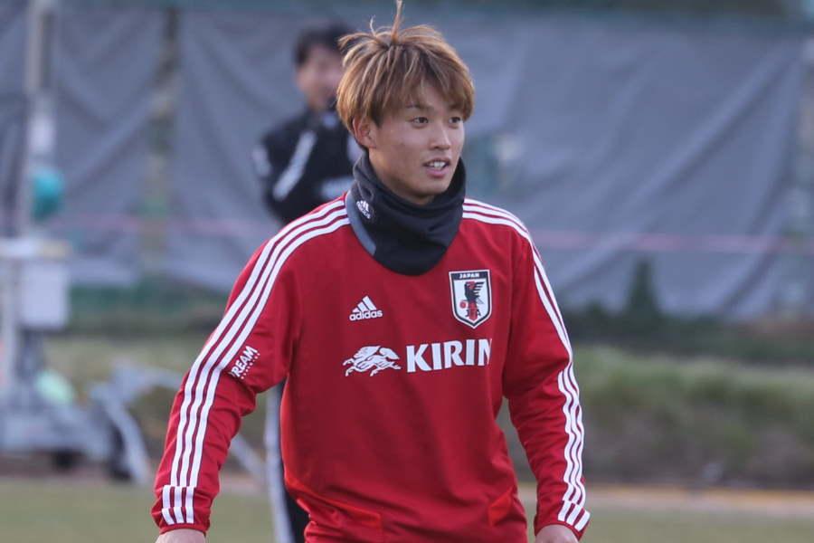 日本代表MF森島司【写真:Football ZONE web】