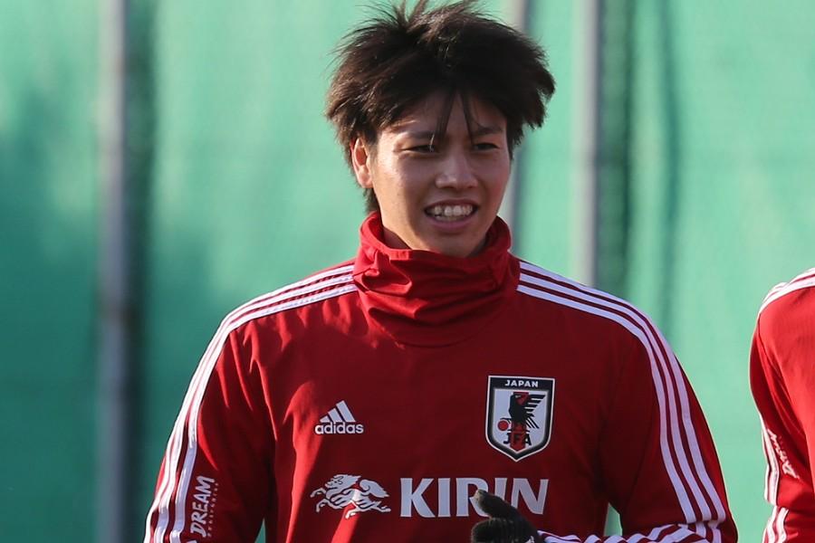 日本代表MF田中碧【写真:Football ZONE web】