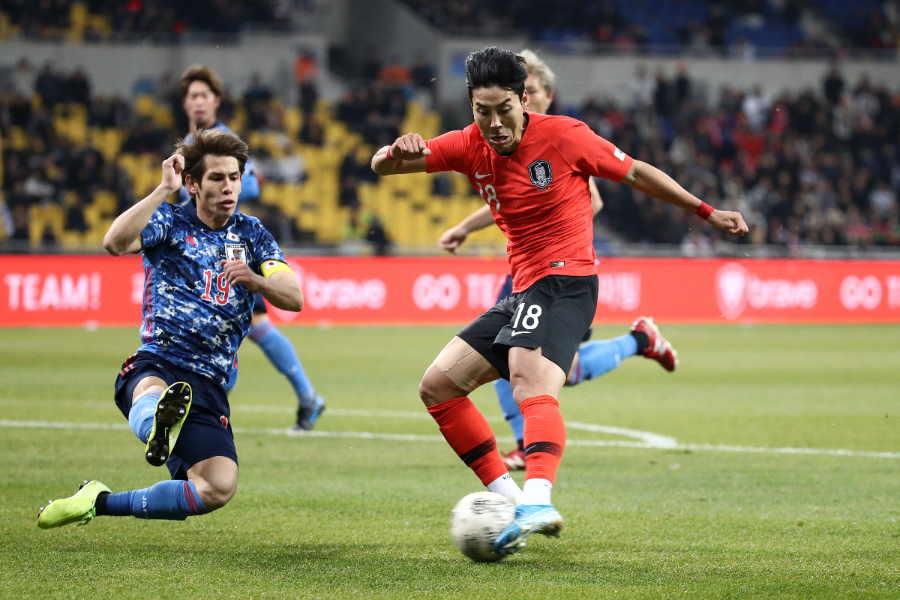 韓国が1-0で勝利し、E-1選手権優勝を果たした【写真:Getty Images】