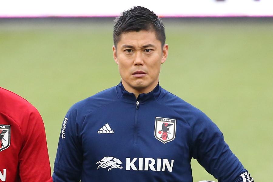 日本代表GK川島永嗣【写真:©JFA】