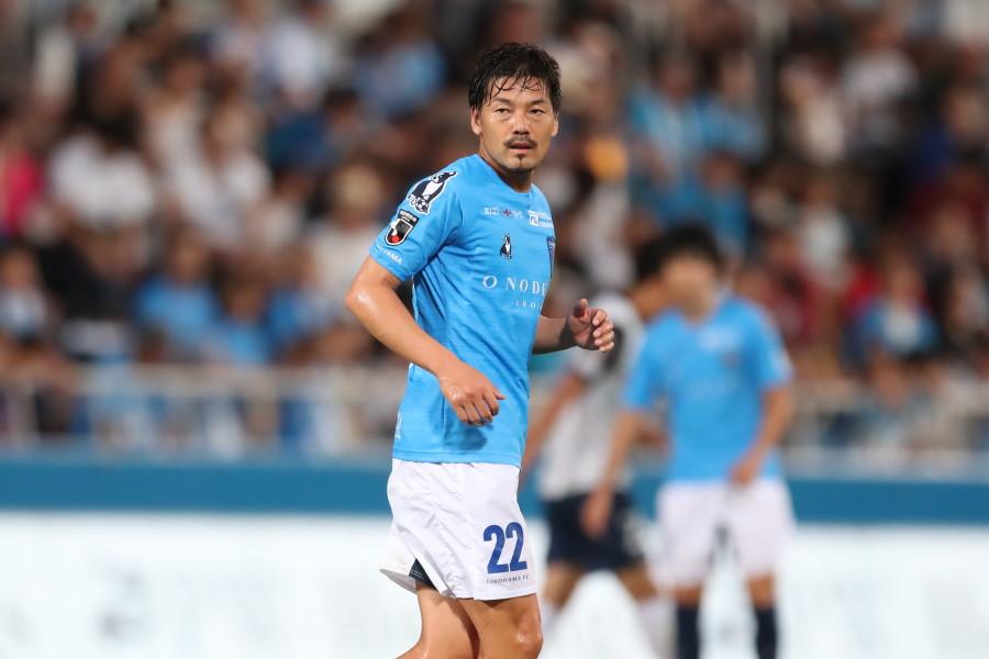 横浜FCのMF松井大輔(写真は昨シーズンのもの)【写真:高橋 学】