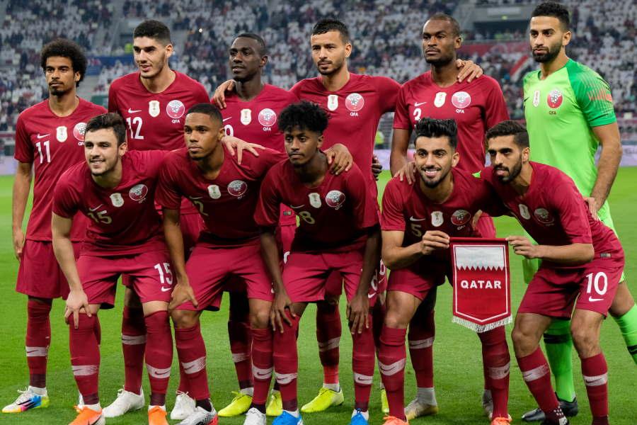 W杯欧州予選に参加することが決まったカタール代表【写真:Getty Images】