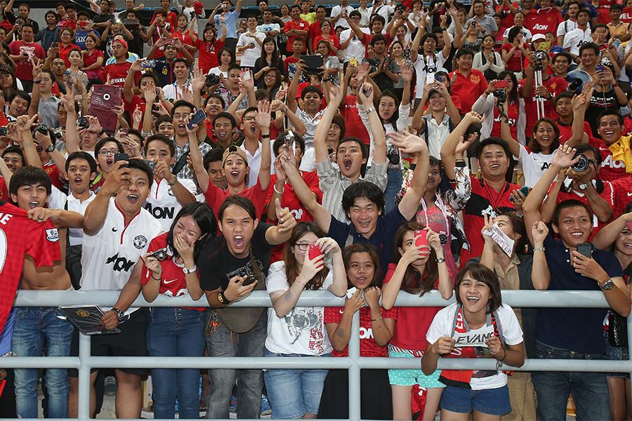 日本人ファンの特徴的なデータとは(写真はイメージです)【写真:Getty Images】