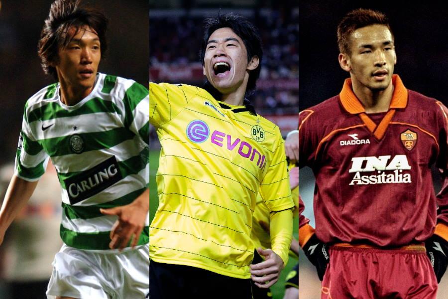 史上最高のアジア人選手トップ10に選出された日本人選手たち【写真:Getty Images】