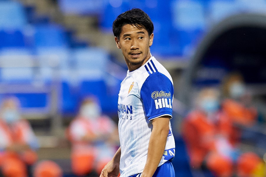 PAOKサロニカへの移籍が決まった元日本代表MF香川真司(写真はサラゴサ時代のものです)【写真:Getty Images】