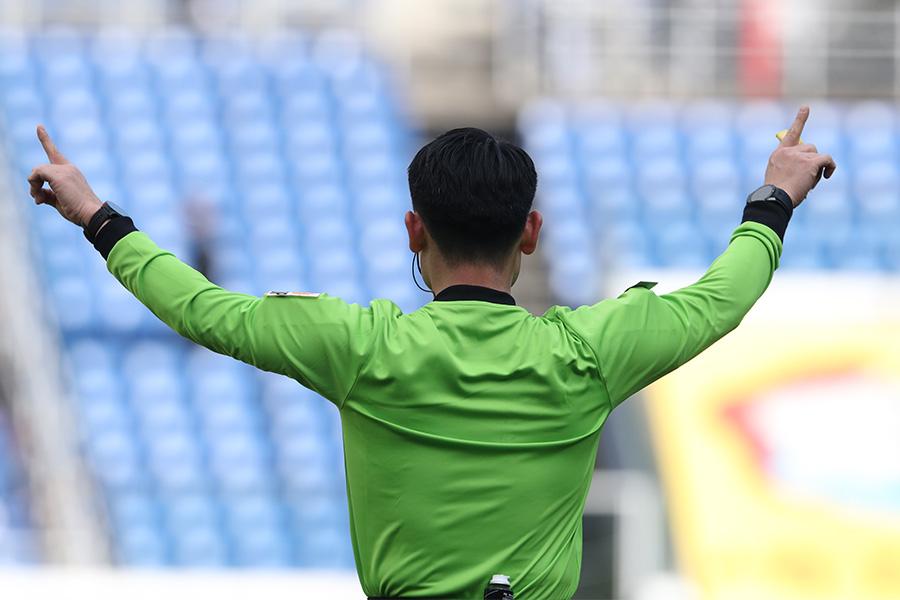 名古屋グランパスvs横浜FCの一戦で起こったPK取り消しの判定に注目(写真はイメージです)【写真:高橋 学】