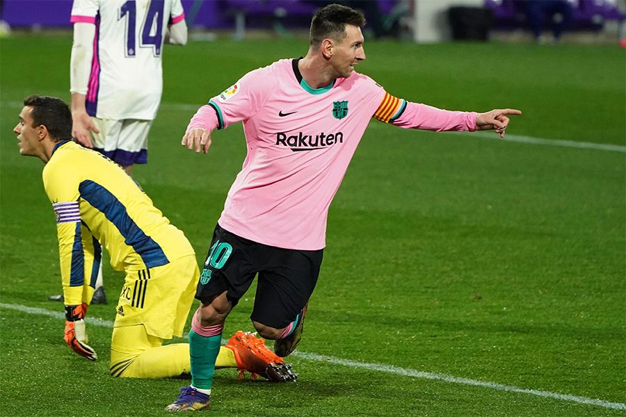 バルセロナFWリオネル・メッシがクラブ通算644ゴールを達成【写真:AP】