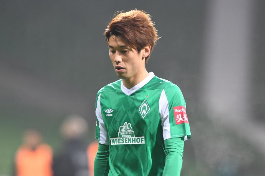 他クラブへ移籍する可能性のあるブレーメンの日本代表FW大迫勇也【写真:Getty Images】