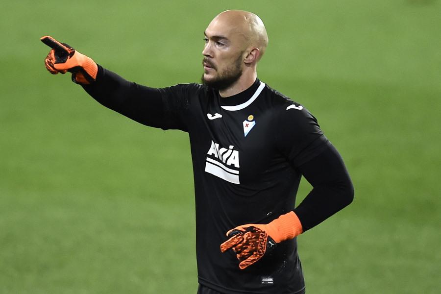 PKを決めたセルビア代表GKマルコ・ドミトロヴィッチ【写真:Getty Images】