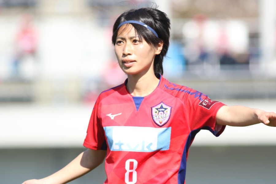 自身の公式インスタグラムを更新した田中陽子【写真:Football ZONE web】