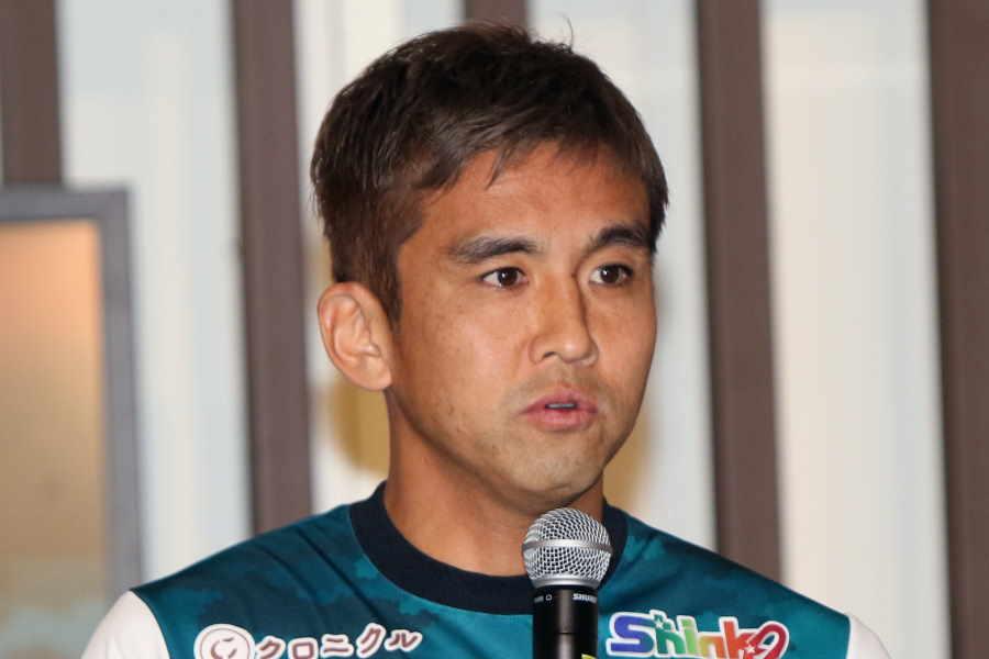 元日本代表MF稲本が新年初トレーニングの写真を公開【写真:Football ZONE web】