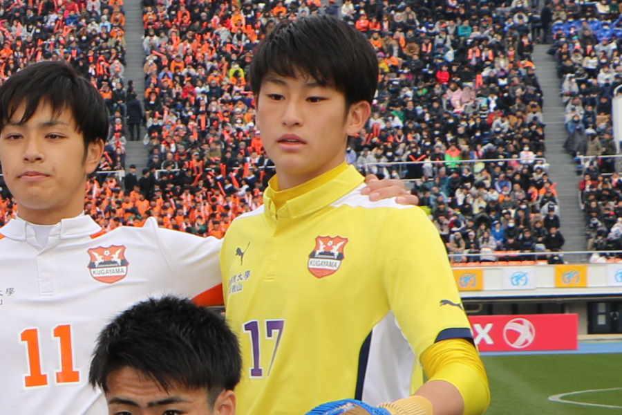 國學院久我山GK村上が活躍を見せた【写真:Football ZONE web】